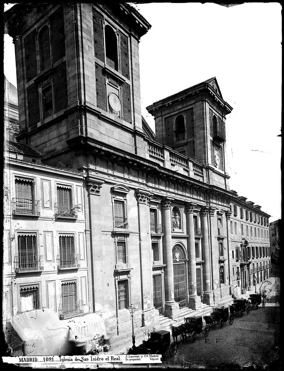 Madrid en 1854 seg n alfred guesdon for Biblioteca iglesia madrid